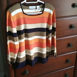 Alfred Dunner petite sweater